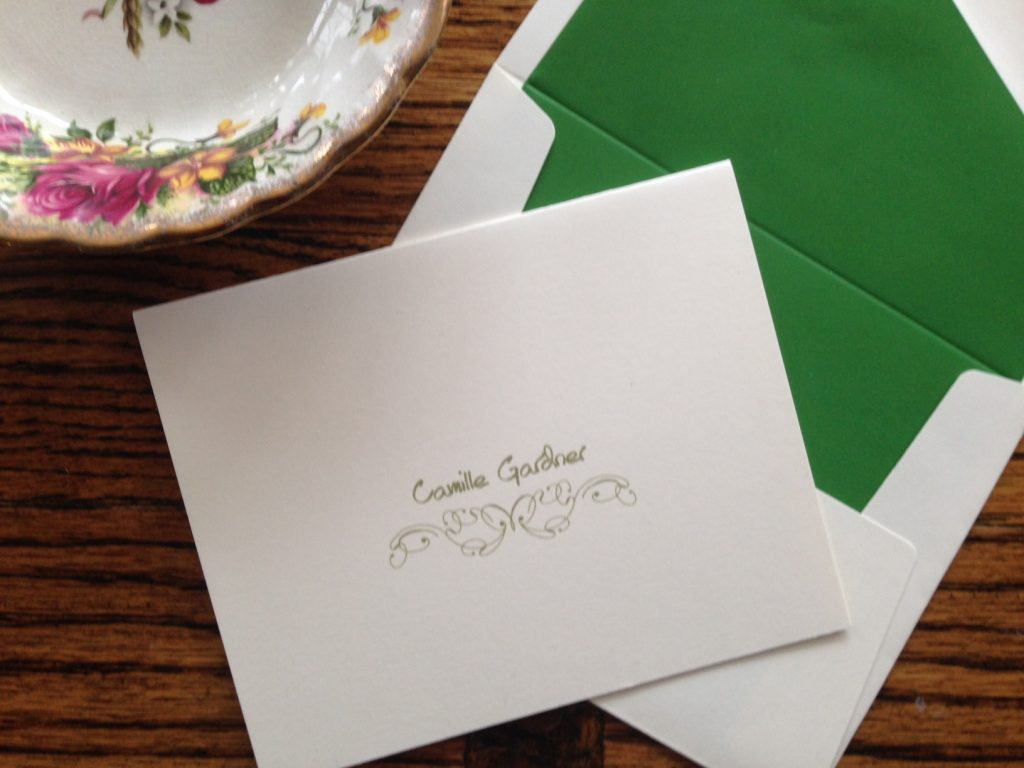 Letter writing can be a beautiful part of a meaningful morning ritual
