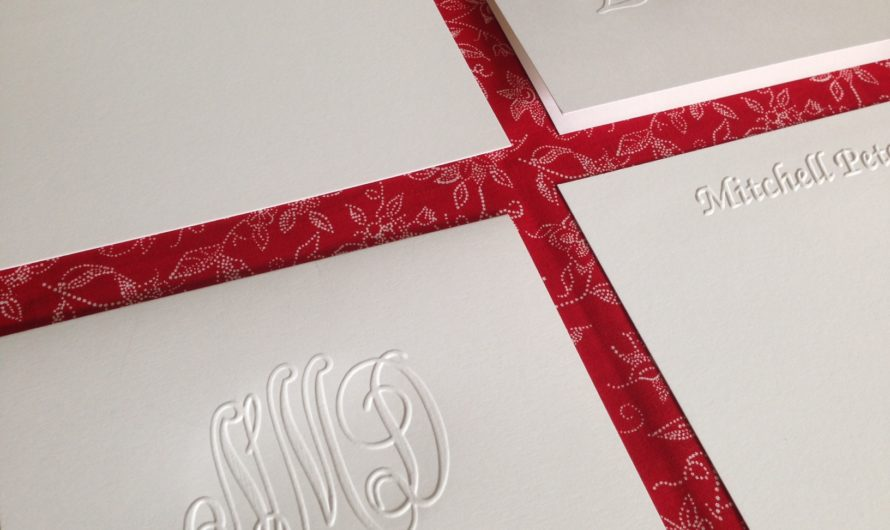 What is personalized stationery and how should I use it?
