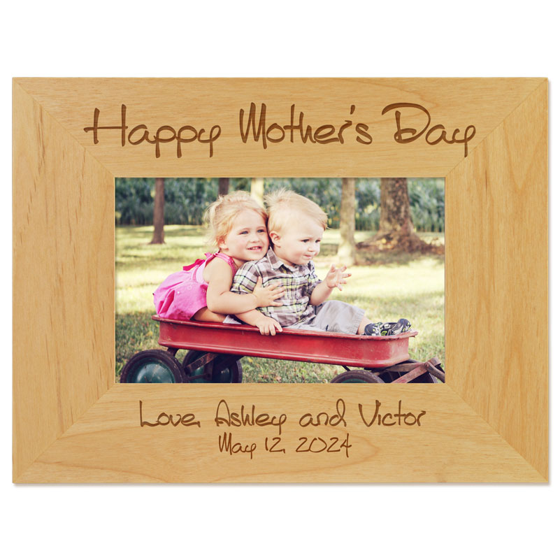 Personalize the Mother's Day Picture Frame for Mother's Day 2021