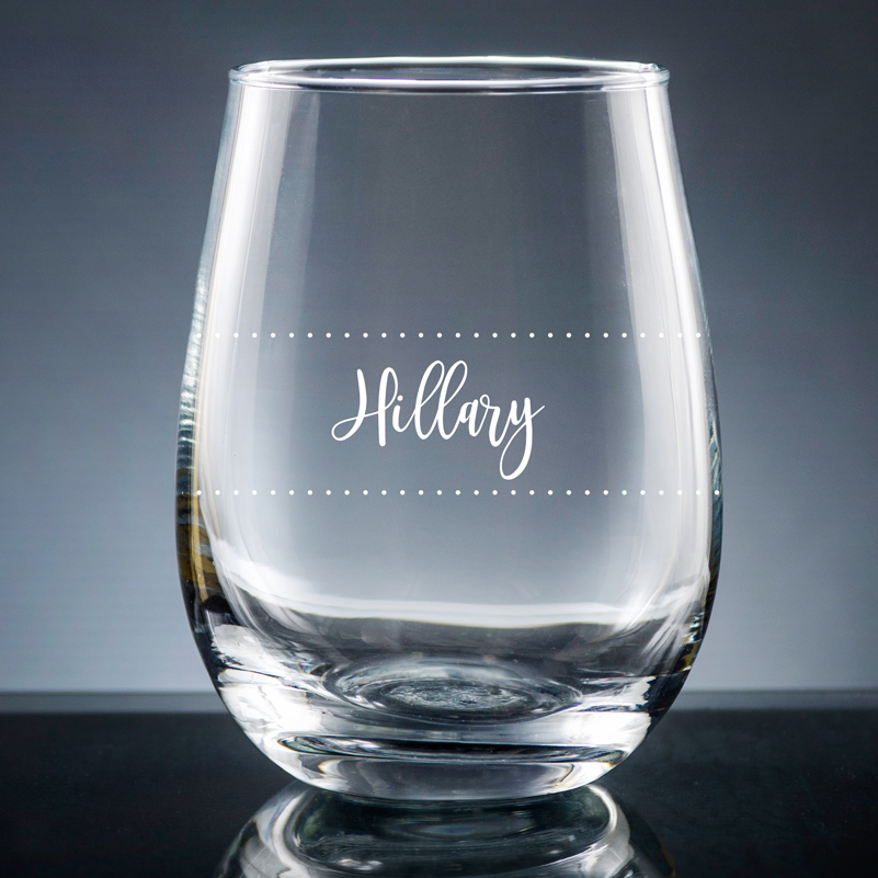 The Wine Diva Stemless Wine Glasses are cute gifts for Mom for 2021 Mother's Day.