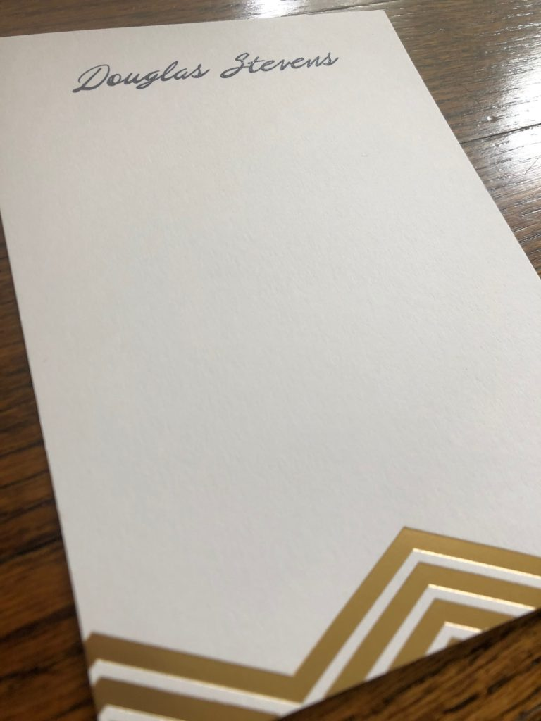 Contour Card from Embossed Graphics