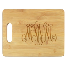 Delavan Monogram Cutting Board - Engraved