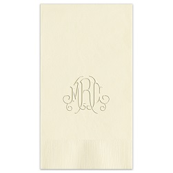 Heartfield Monogram Guest Towel - Embossed