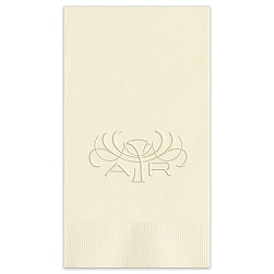 Eminent Monogram Guest Towel - Embossed