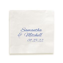 Together Forever Napkin - Foil-Pressed