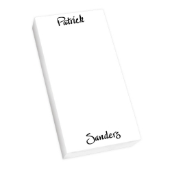 Highland Mini List - White REFILL
