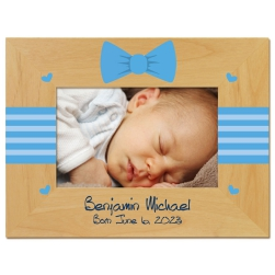 Bowtie Baby Printed Picture Frame