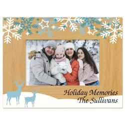 Winter Memories Picture Frame