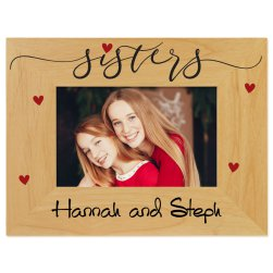 Sisters Printed Picture Frame
