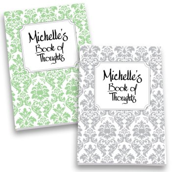 Damask Personalized Journal Set