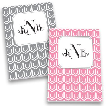 Bradford Monogram Personalized Journal Set
