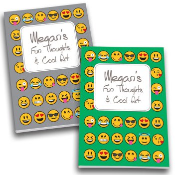 Emoji Personalized Journal Set