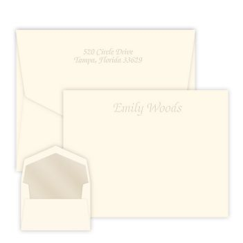 Mayfair Card - Embossed