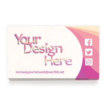 Your Logo Custom Business Card - Digital Print