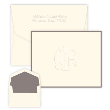 Your Logo Note - Embossed