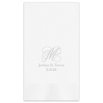 Estate Guest Towel - Embossed