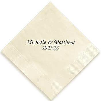 Chesterfield Napkin - Foil-Pressed