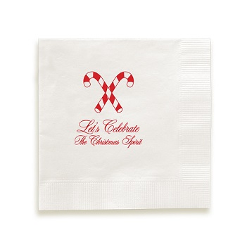 Christmas Napkin - Foil-Pressed