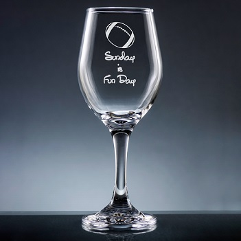 Athlete Wine Glass with Stem