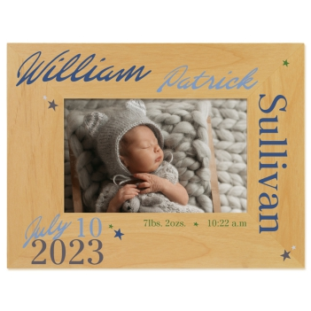 Little Boy Blue Printed Picture Frame