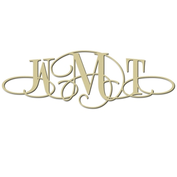 Roma Monogram Wall Sign