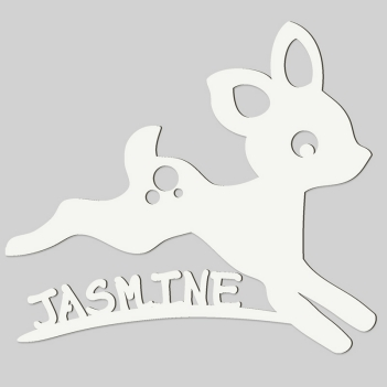 Baby Deer Wall Sign