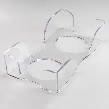 CrystalClear Guest Towel Holder