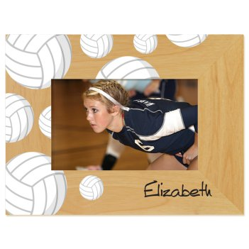 Volleyball Printed Picture Frame